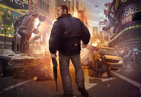 Grand Theft Auto Iv Finale By Patrickbrown On Deviantart