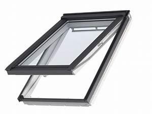 Roof window VELUX GPU 0066 White Polyurethane Finish