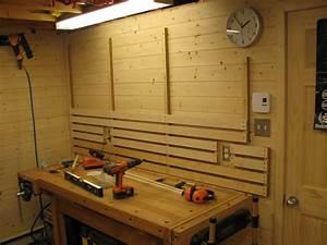 Rangement Outils Garage : systeme de rangement mural pour atelier ~ Melissatoandfro.com Idées de Décoration