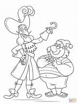 Hook Captain Coloring Smee Pages Mr Drawing Printable Pirate Underpants Tick Tock Jake Neverland Pirates Non Template Sketch sketch template
