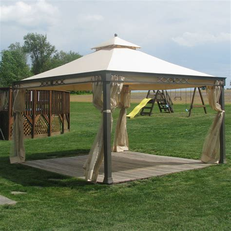canopy tent kmart kmart marth stewart shelter island gazebo replacement