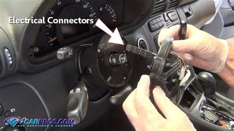 remove  airbag clock spring    minutes