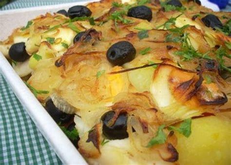 cuisine portugaise morue au four morue au four