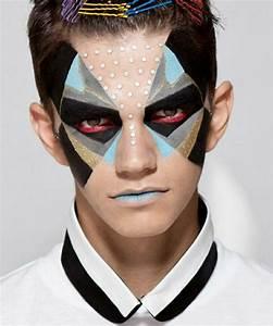 Maquillage Halloween Garçon : le maquillage halloween homme facile en plusieurs photos et vid os obsigen ~ Melissatoandfro.com Idées de Décoration