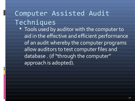 auditing  cis chapter