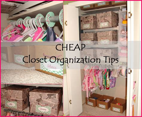 Closet Organization Ideas Cheap by Cheap Closet Organization Tips Closet Organization
