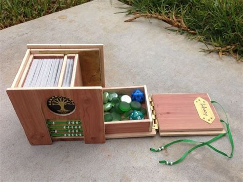 Magic The Gathering Wooden Deck Box by Best 25 Deck Box Ideas On