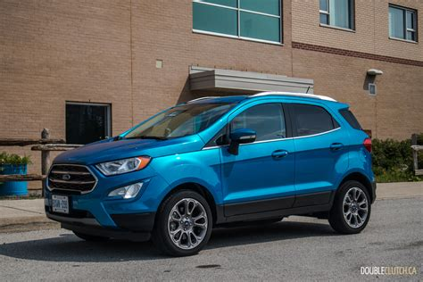 2019 Ford Ecosport by 2019 Ford Ecosport Titanium Doubleclutch Ca