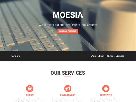 Company Onepage Website Templates 2016 by 35 Best Free Business Themes 2018 Athemes