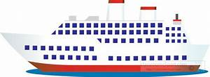 Boats and Ships Clipart- large-passenger-cruise-ship ...