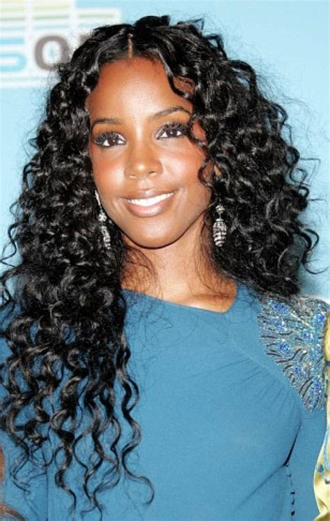 curly weave hairstyles for black women 2013 http