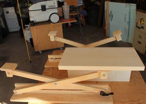 shop tip adjustable scissor lift assembly jig