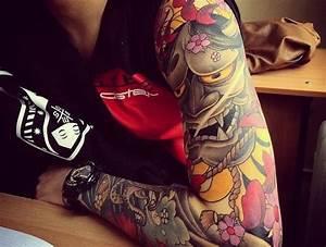 Fleur De Cerisier Signification : irezumi ou le tatouage japonais traditionnel pinterest ~ Melissatoandfro.com Idées de Décoration