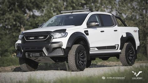 sport creates muscly raptor  ford ranger  europe