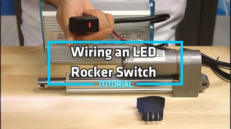 Need to know how to wire a 4 pole illuminated rocker switch? How-To Wire an LED Rocker Switch - YouTube