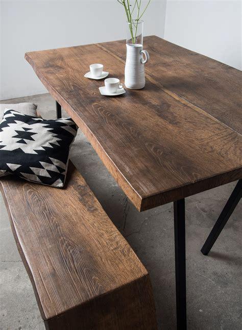 Esstisch Aus Gerüstbohlen by Altholzdesign Tisch Mit Edler Dunkler F 228 Rbung Sunwood
