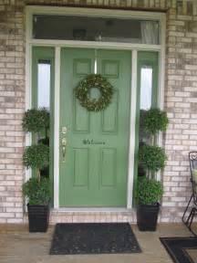 Green Front Door Colors