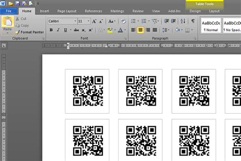 code template 187 how to make qr code labels stickers