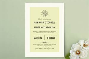 irish celtic wedding invitation ideas With simple elegant wedding invitations ireland