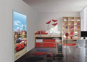 turtapete fototapete tapete cars 2 lightning mcqueen With balkon teppich mit mcqueen tapete