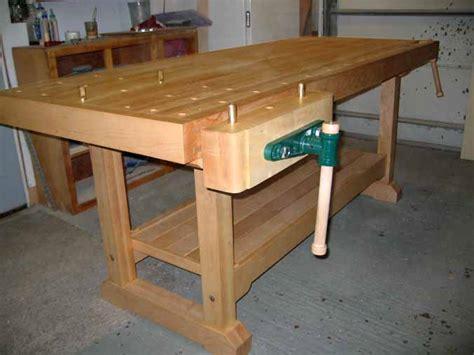 woodshop bench plans  woodworking