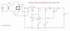 Battery Charger Circuit Diagram With Auto Cut