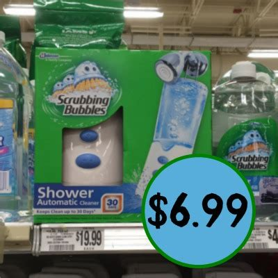 75916 Coupon Scrubbing Bubbles Shower Cleaner by Scrubbing Bubbles Automatic Shower Cleaner Save 13 At