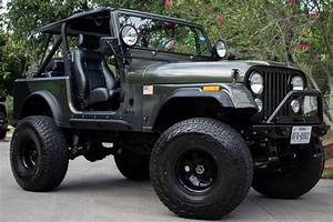 Used 1979 Jeep Cj7 For Sale   21 995