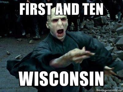 Wisconsin Meme - voldemort meme go uw madison badgers you ve said it all pinterest voldemort meme