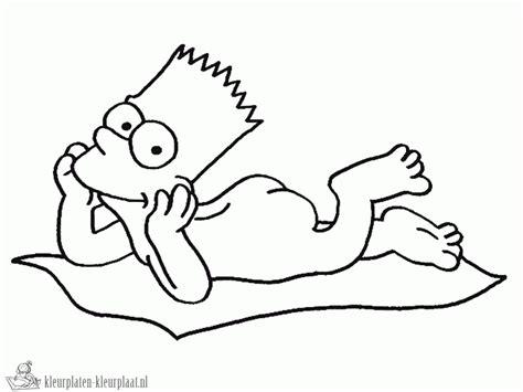 De Simpsons Kleurplaten kleurplaten the simpsons kleurplaten kleurplaat nl