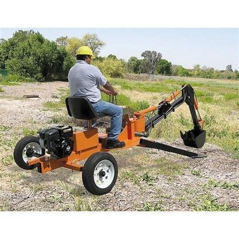 ride  trencher towable mini backhoeexcavatordigger  sale  united states