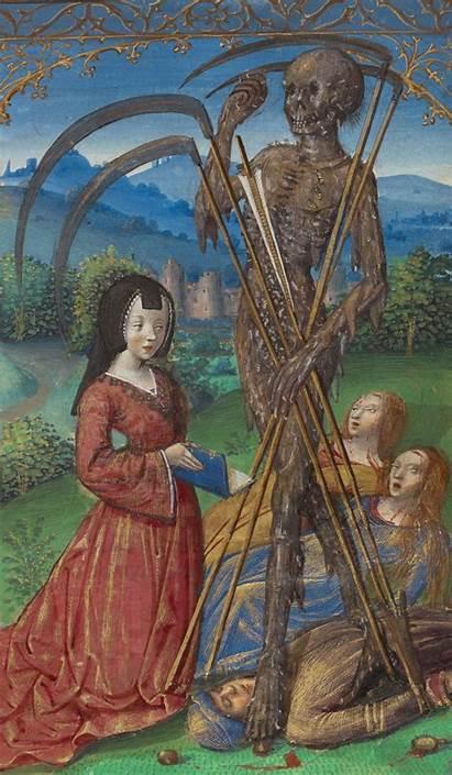Medieval Getty Manuscript Horrifying Illuminations Paul Museum