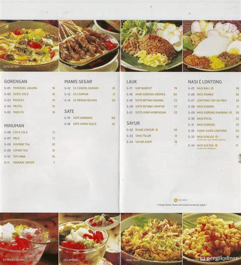 Harga Etude House Kelapa Gading selalu diperbarui menu sate khas senayan express senayan