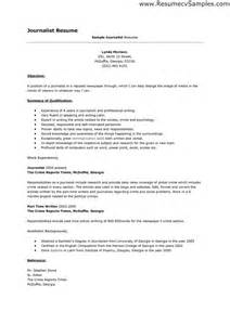 Resume For Journalist Position by 1000 Images About Resume Templates And Cv Reference On Assistant Exle