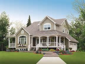 Harmonious Country Homes House Plans by Houses Home Farm House Country