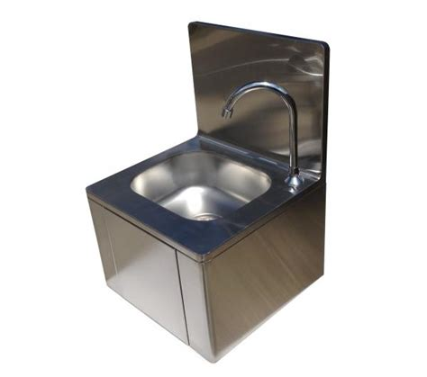 stainless steel commercial hand wash sinks squid catering hand wash sink knee operated stainless