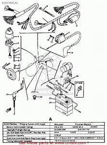 Yamaha Dt100 1974 Usa Electrical