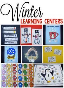 Preschool Winter Center Ideas