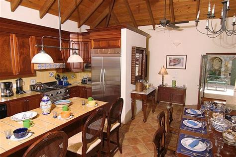 Carribean Kitchen by Coco De Mer St Caribbean Palm Properties