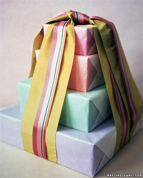 Giftwrapping Ideas  Martha Stewart