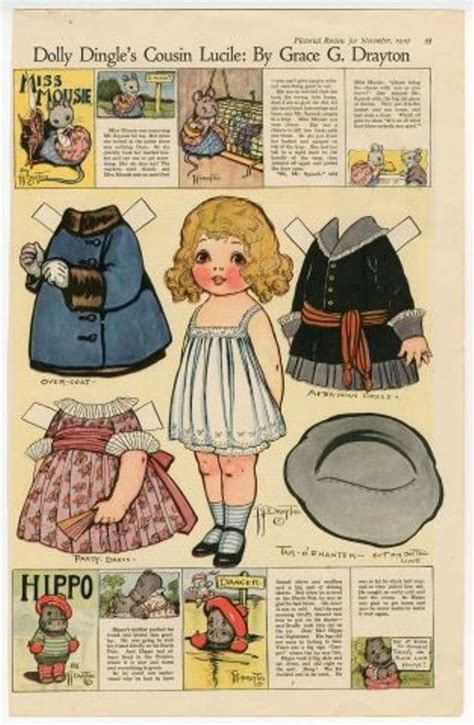 1000+ Images About Dolly Dingle Paperdolls On Pinterest