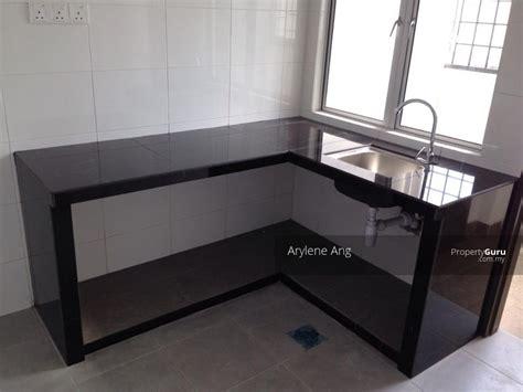 kitchen cabinet concrete table top orchis apartment bandar parklands bukit tinggi klang 7755