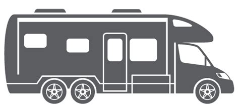 motorhome clipart black and white rv clipart 54