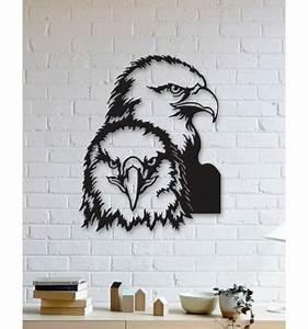 Name Date Designs Unique Custom Designed Wall Decoration Product Eagle Metal