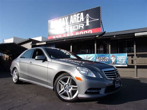Register to see photo and additional vehicle info it's free. Used 2013 Mercedes-Benz E-Class E550 Sedan 4MATIC for Sale in Hayward CA 94541 Bay Area Motor