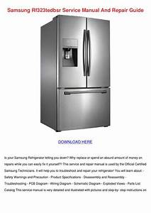 Daewoo Refrigerator Wiring Diagram Repair Manual