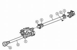 2006 Jeep  Drove Short Distance  High Speed Drive Shaft  Metal