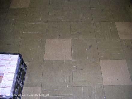 asbestos plastic tiles
