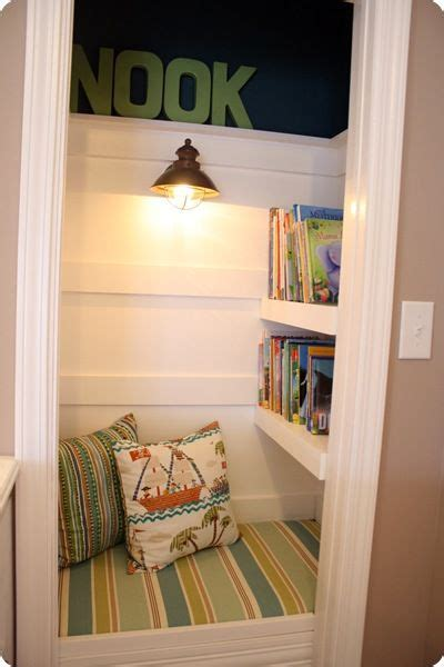 book nook for the reading corners for