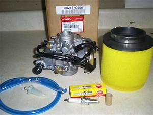 New Genuine Honda Oem Rancher 350 Carburetor Plug